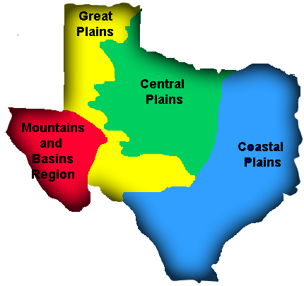 Regions of Texas - Home